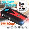 99900mAh 12V LCD 2 USB Car Jump Starter Pack Booster Charger Battery Power Bank
