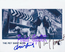 Pet Shop Boys Neil Tennant & Chris Lowe Signed 10x8 Repro Photo Print