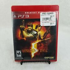Resident Evil 5 - Greatest Hits Edition (Sony, PlayStation 3 PS3) Complete