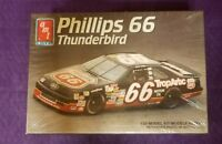 Model Kit #66 Chad Little Phillips 66 Ford Thunderbird AMT 1:25 Scale
