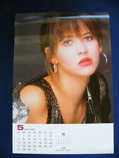 1989 Sophie Marceau Japan VINTAGE calendar POSTER VERY RARE