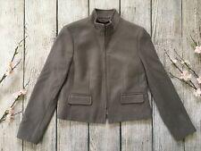 BANANA REPUBLIC taupe long sleeve Mario Bellucci wool blend blazer jacket 2P