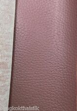 DUSTY PINK FAUX LEATHER SOFT FABRIC for UPHOLSTERY SEAT STOOL BOOK SHOES JACKET