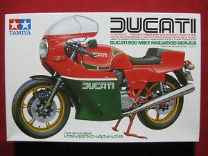 Ducati 900 SS Mike Hailwood Replica 1/12 Tamiya Model Kit Motorbike 1978 TT Race