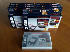 8ud Cartucho Verbatim DittoMax 3Gb nuevos, new!!!