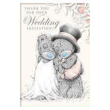 Me to You Wedding Invitation Acceptance Card - Tatty Teddy Bear