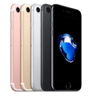 Apple iPhone 7 Rose Gold Silver Black Red 32GB Smartphone Unlocked Free express