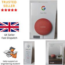 Google Nest Mini (2nd Generation) Smart Speaker - Coral