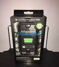 Authentic Mophie juice pack PRO Battery Case iPhone 4s/4-2500mAh-Black *Sealed*