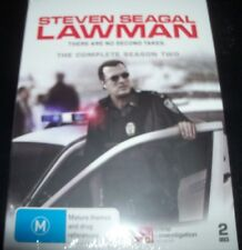 Steven Seagal Lawman: The Complete Season 2 (Australia Region 4) DVD - NEW