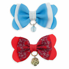 Disney Store Princess Belle Hair Bow 2pc Set Beauty & the Beast Girls Gift NWT