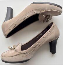 SALVATORE FERROGAMO alpaca suede shoes size 10C(40EU)