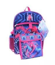 Marvel Spiderman 5-Pc Set Backpack, Lunch Bag, Cinch Sac, Pouch & Water Bottle