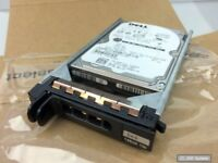 146GB Original DELL XK112 HDD SAS 10K 2.5 Festplatte mit Hot-Plug Rahmen, NEUW.