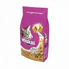 WHISKAS 1+ Cat Complete Dry with Duck and Turkey 2kg - 2kg - 573144