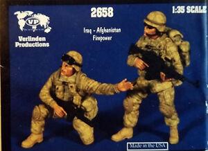 APOCALYPSE END-GAME! Verlinden 1/35 IRAQ - AFGHANISTAN FIREPOWER Resin Figures!