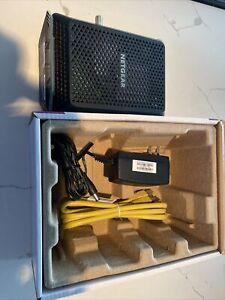 NETGEAR - 32 x 8 DOCSIS 3.0 Cable Modem CM700 As Is Parts Or Repair