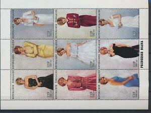 LN23232 Togo princess Diana royalty good sheet MNH