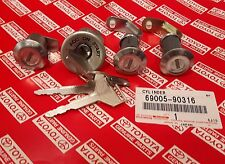OEM Toyota Land Cruiser FJ40 Ignition Cylinder Lock Set w/Keys 69005-90316