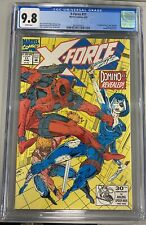 X-FORCE #11 CGC 9.8 1st  APPEARANCE OF DOMINO / DEADPOOL APPEARNCE ROB LIEFELD