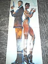 ROGER MOORE / GRACE JONES   007  POSTER  125 x 0,56 CM  0320