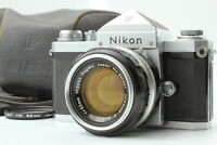 [Exc+5 w/ Case] Nikon F Eye Level 35mm SLR Film Camera & Nikkor 50mm f/1.4 Japan