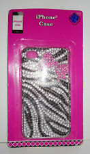 w.o.. I Phone Case for IPhone 4/4s NoC Diamond Black, Silver & Pink