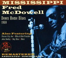 Downhome Blues 1959 - Mississippi Fred Mcdowell (2011, CD NEU)2 DISC SET