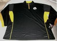 Pittsburgh Steelers 1/4 Zip Long Sleeve Jersey Shirt Stitched Cool Base NFL