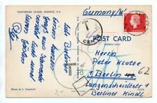 CANADA: Postcard to Germany 1967, postage due.