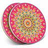 2 x Coasters - Indian Mandala Boho Yoga Home Gift #19356