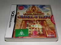 Jewel Master Craddle of Egypt Nintendo DS 2DS 3DS Game *Brand New*