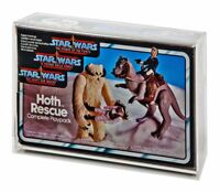Star Wars Tri Logo Hoth Rescue/Ewok Combat/Endor Chase/Max Rebo Display Case