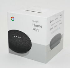 Google Home Mini Karbon - Sprach-Assistent Lautsprecher schwarz - NEU & OVP