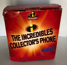 Disney Pixar Telephone The Incredibles Collector's Phone by SBC New Open Box
