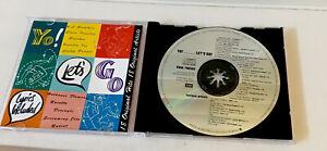 """""""YO!... LET'S GO -VARIOUS ARTISTS""""1991 CD V/G 18 ORIGINAL TRACKS EMI MUSIC"""