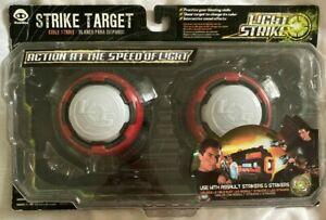 2 x LIGHT STRIKE - STRIKE TARGETS * use w/  ASSAULT STRIKER LASER TAG GAME * NEW