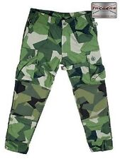 Swedish Camo M90 Camouflage Tacgear Ksk Use Pants Trousers XL