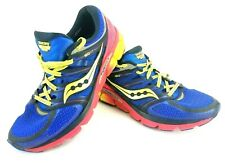 Saucony Women's Size US 11 Zealot ISO Navy Blue Pink Lime Running Shoes S10269-2