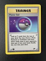 Master Ball 116/132 Uncommon 1st Edition Gym Challenge Pokemon Card Near Mint