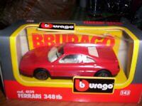 FERRARI  348 TB - 1989 - BURAGO - SCALA 1/43