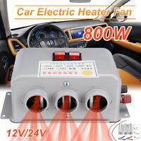 DC 12V 24V Car Vehicle Heating Cooling Heater Fan Car Defroster Demister 800W