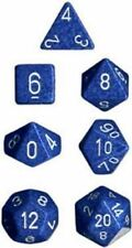 Polyhedral 7-Die Chessex Dice Set - Speckled Water CHX 25306