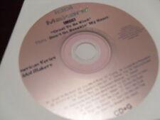 IDOL MAKERS KARAOKE IM007 CRUEL TO BE KIND THRU DON'T GO BREAKIN MY HEART CD+G