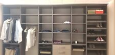 12ft Luxury Italian Closet Designs and Materials Built/Made in the USA