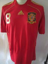 Spain 2006 Xavi 8 Home Football Shirt Size XL /34347