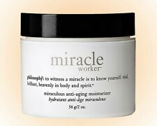 Philosophy Miracle Worker  Anti-Aging Moisturizer 2 OZ. Firm & Hydrate Skin NIB