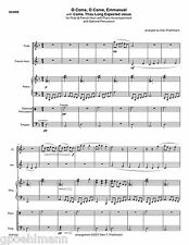 5 hymn Duets for Flute + other instrument. Sheet music Free Us shipping!