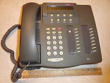LOT OF 4 Avaya Lucent Definity 6416D+ Grey Gray Phone with handset base and cord