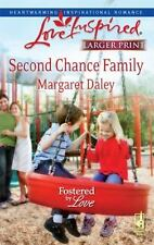 Larger Print Love Inspired: Second Chance Family by Margaret Daley